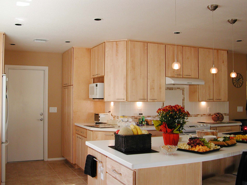 Superb Cabinet Wood Finish Feature: Maple