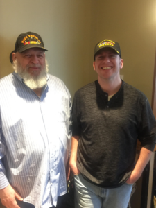 Ryan Foote (on right) with his Father (Photo by Purple Heart Homes)